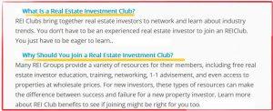 Dc Fawcett Real Estate Club 1